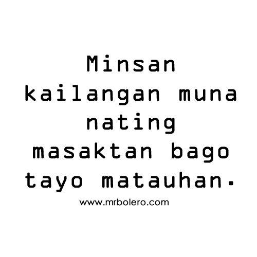 Masakit Tagalog Sad Love Quotes And Sayings: Masakit Tagalog Sad Love Quotes