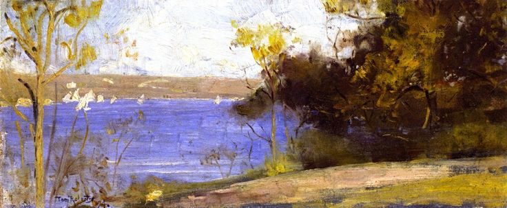 tom roberts - cremorne nsw water view