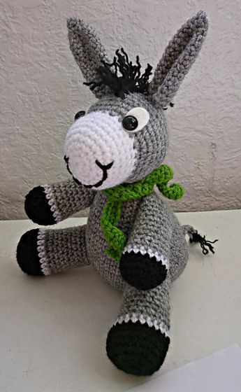 Ravelry: Perki the donkey pattern by Gaëlle Quemener