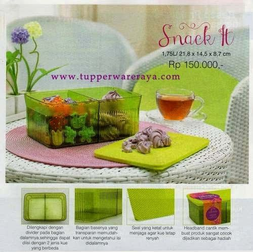 Promo Tupperware April 2014 - Snack It