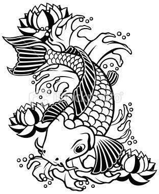 49 best koi fish images on Pinterest Koi Fish tattoos and Koi art