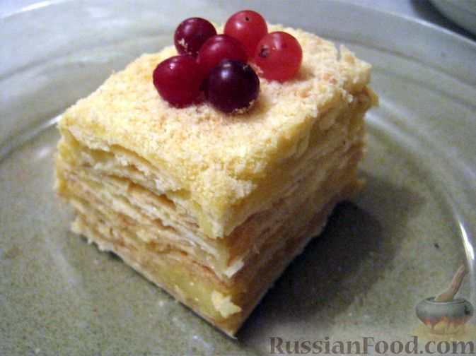 Рецепт: Сметанный торт на RussianFood.com