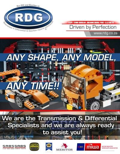 Any Shape, Any Model, Any Time - RDG - We are here to help!