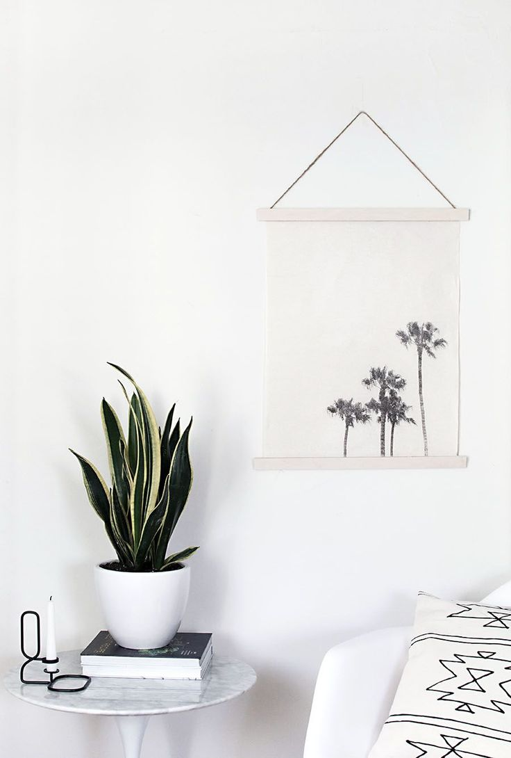 DIY Image Transfer Wall Hanging - Homey Oh My! #craftywithcanon #partner