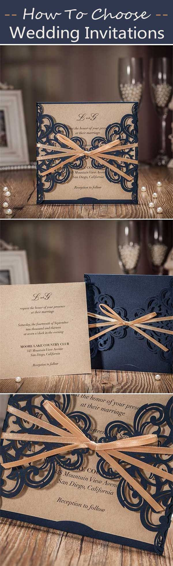 wedding invitation text format for friends%0A REAL WEDDING ACCESSORIES  HOW TO CHOOSE YOUR PERFECT WEDDING INVITATIONS   Wedding  Invites Paper