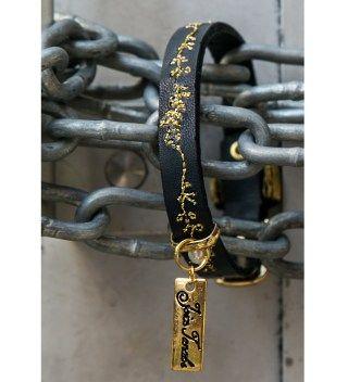 JT Navy Blues Leather Bracelet