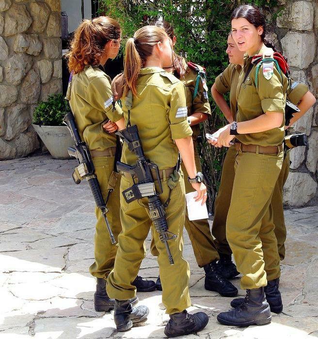 Military girls strip