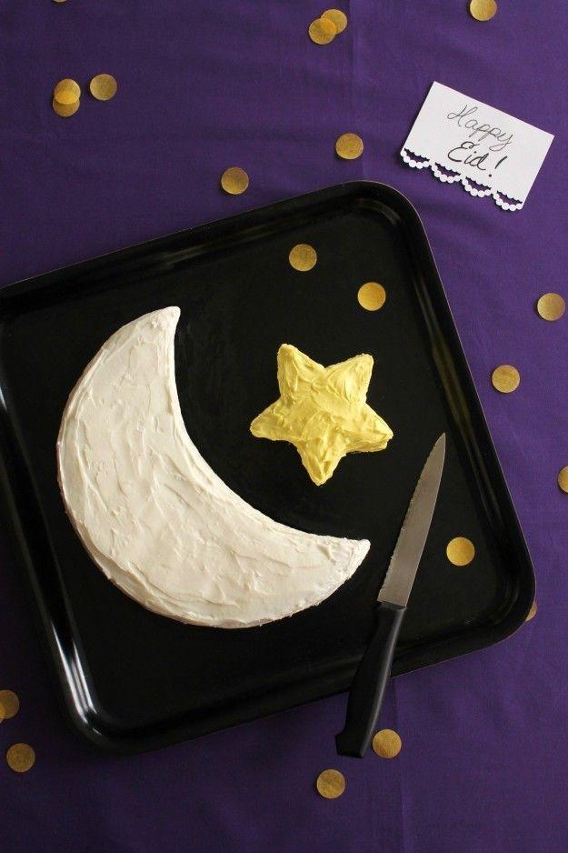 Crescent Star Cake | 13 Super Fun Ways You Can Celebrate Ramadan With Your Kids