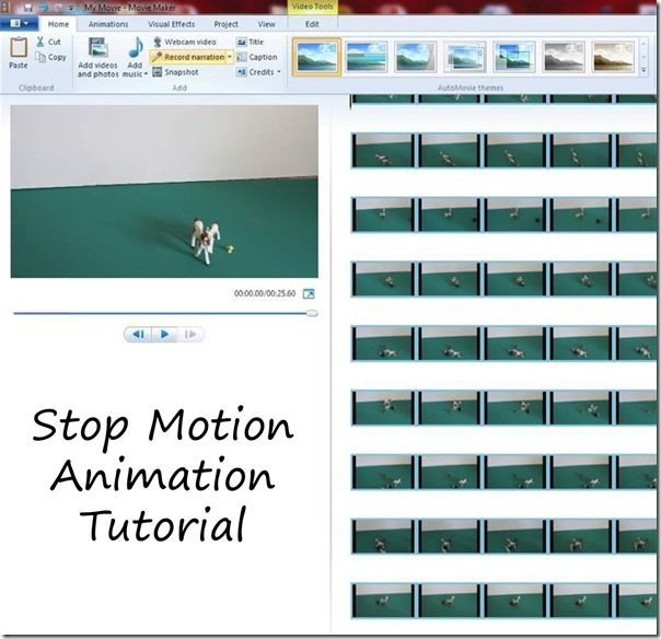 Great stop motion animation tutorial - Any kid can make their own stop motion animated short video at home with this free software! A great summer project for kids.