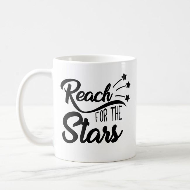 Reach For The Stars S Club 7 Lyric Music Gifts Coffee Mug Zazzle Com With Images Music Gifts S Club 7 Mugs