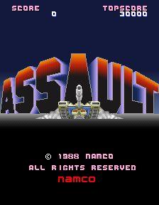 イメージ0 - アサルトの画像 - パチンコCR銀河鉄道999と80年代レトロゲーム - Yahoo!ブログ