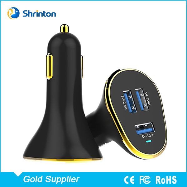 High Quality 5v 6.3a 3 Usb Port Mobile Phone Fast Car Charger Oem Accept - Buy Car Charger,3 Port Car Charger,Car Charger Oem Product on Alibaba.com