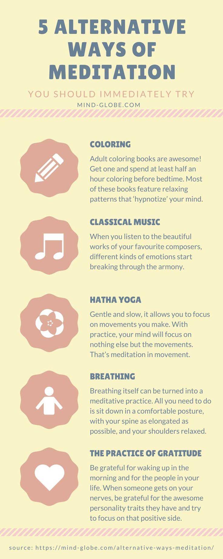 5 Alternative Ways of Meditation You Should Immediately Try