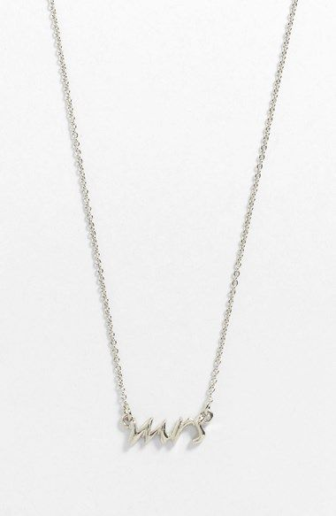 kate spade new york 'say yes-mrs' necklace available at #Nordstrom $78