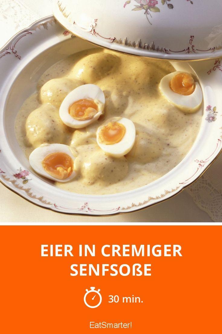 Eier in cremiger Senfsoße - smarter - Zeit: 30 Min.   eatsmarter.de