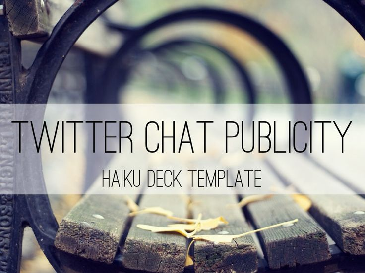Twitter Chat Publicity Template: A simple and flexible template for promoting your Twitter chats. #contentmarketing #socialmedia #twitter