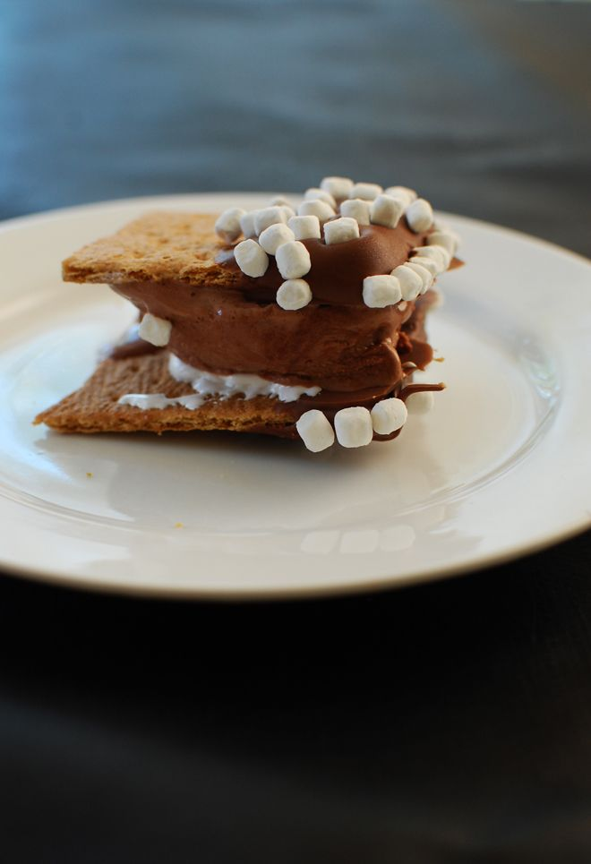 the ultimate s'mores sandwichYum Desserts, Sweets Treats, Rubyellen Creationnn, Ice Cream Sandwiches, Sandwiches Cream, Holy Yummy, Random Desserts, Cream Desserts, Sweets Tooth