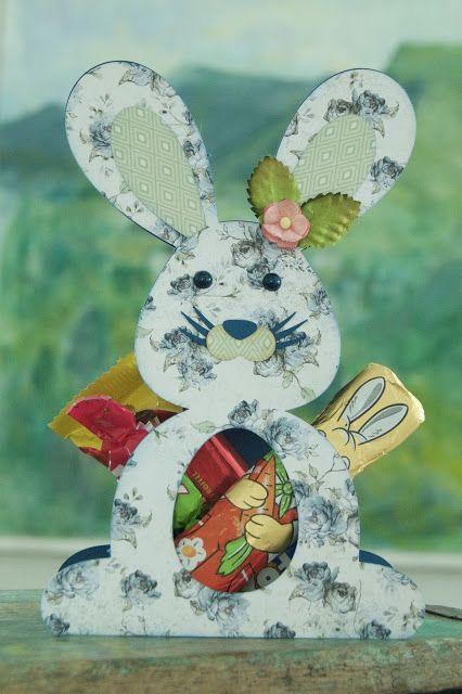 Synnøves Papirverksted: Easter bunnies