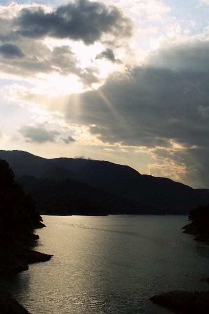 august 4, Lago del Salto