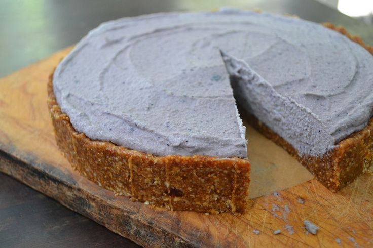 Acai Berry Cheesecake by Lola Cooks that looks absolutely amazing!!! – Organic Burst