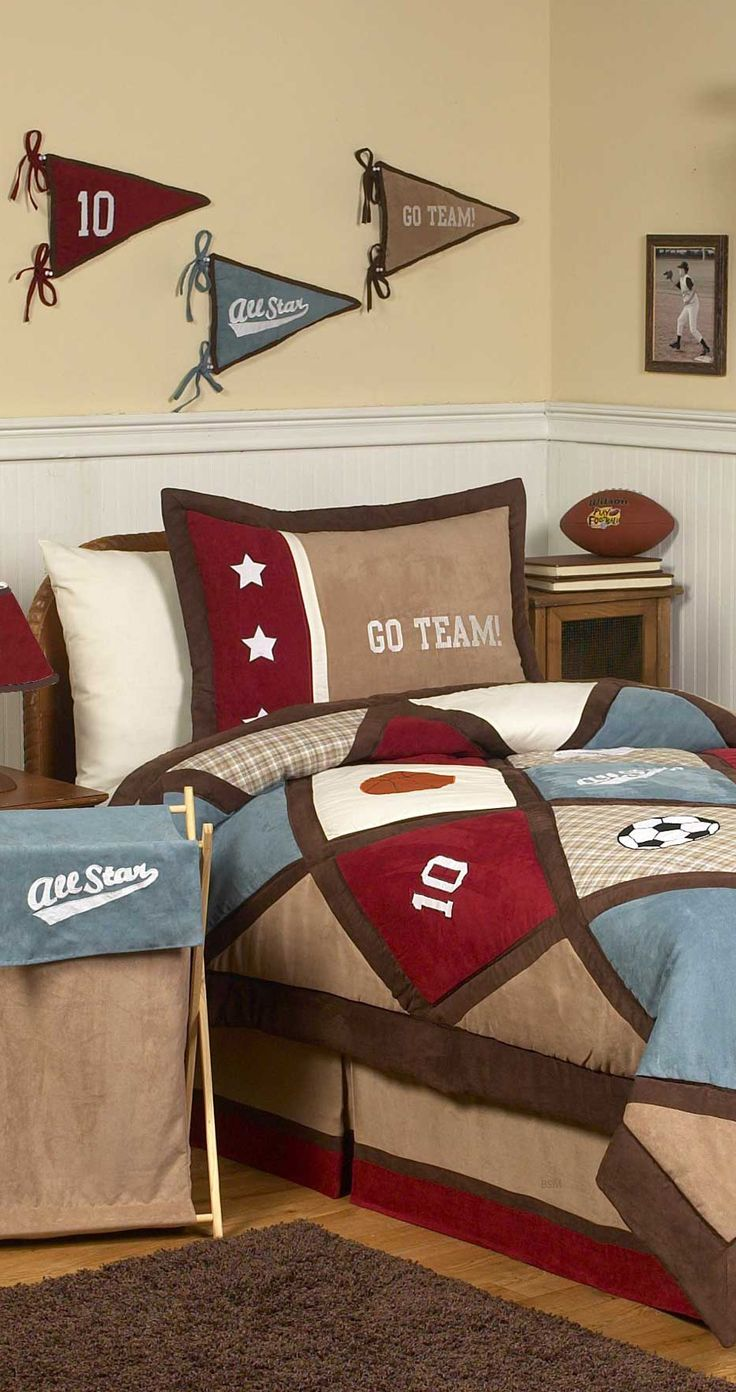 Sports Theme Bedding