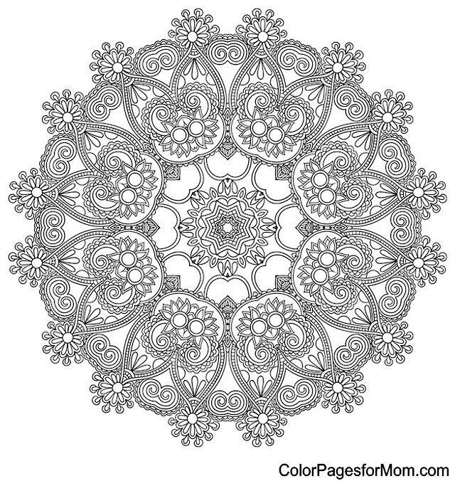 mandala coloring page 19mandala coloring pages colouring adult detailed advanced printable. Black Bedroom Furniture Sets. Home Design Ideas