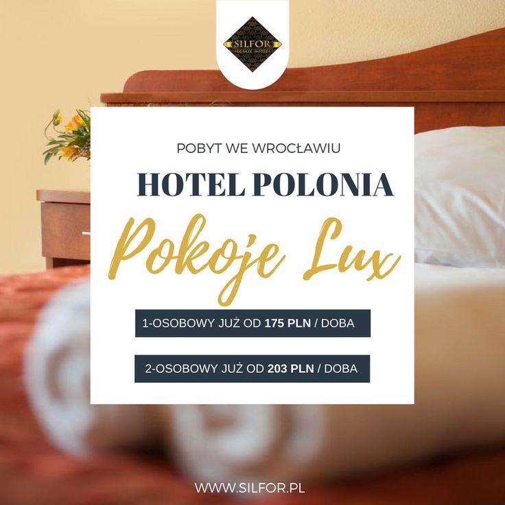 Hotel Polonia, ma atrakcyjne ceny pokoi dla Ciebie. Z e-karta Silfor otrzymasz jeszcze rabat 10%. Rezerwuj: www.silfor.pl  #silfor