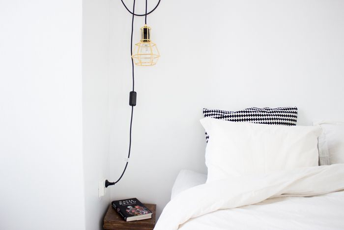 Design House Stockholm Work lamp gold, Scandinavian home / www.livinupanotch.com