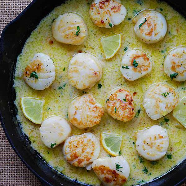 ... Scallop Recipe on Pinterest | Scallop ideas, Sauteed scallops and Best