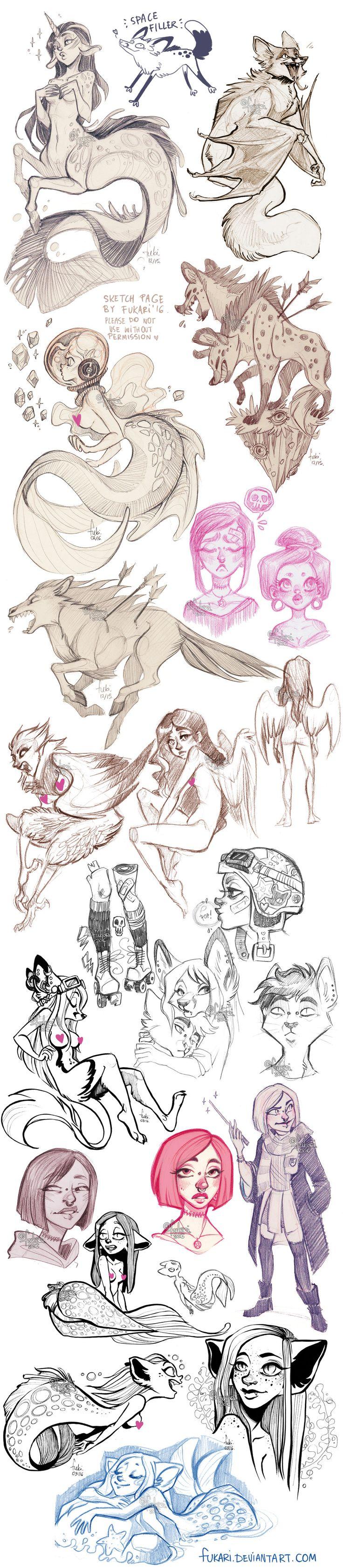 sketch dump of randomness by Fukari on DeviantArt
