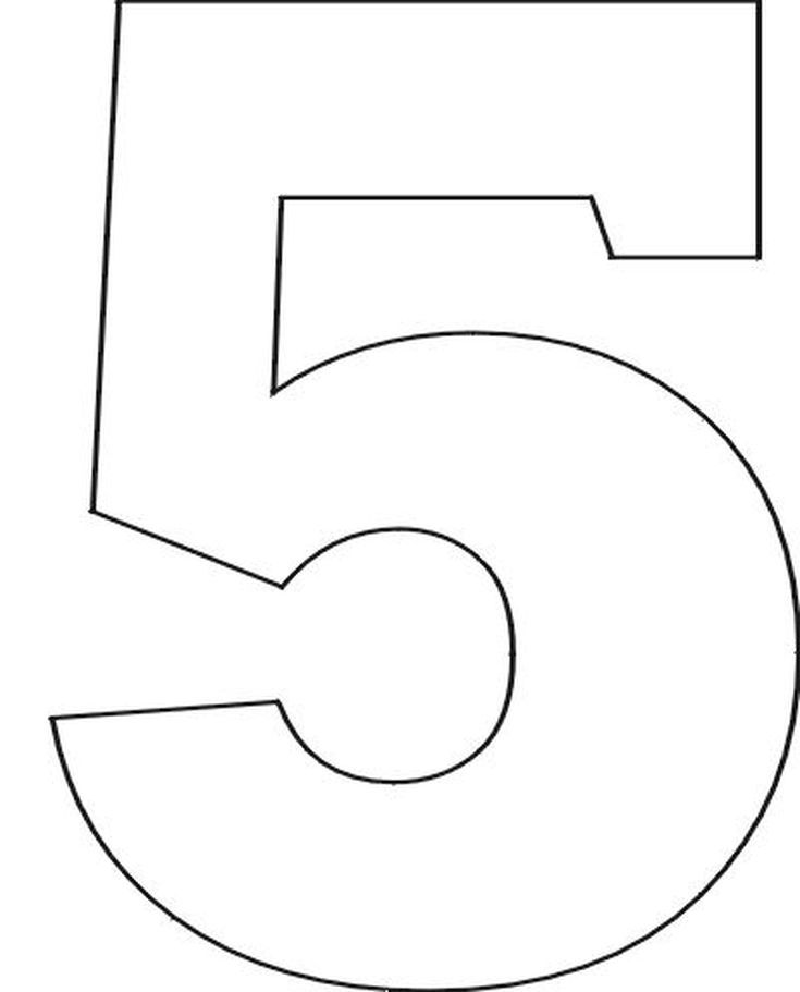 Best  Number Stencils Ideas On   Number Template