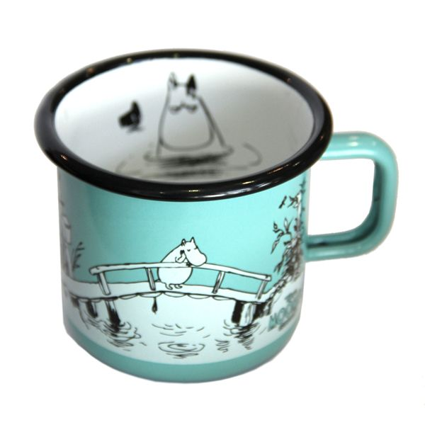 The Moomin Shop Exclusive Enamel Mug | The Moomin Shop
