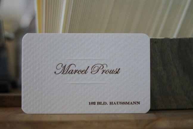 9 best baffigi museum images on pinterest museums embossed business card marcel proust tipografia baffigi reheart Images