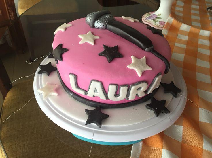 Popstar cake