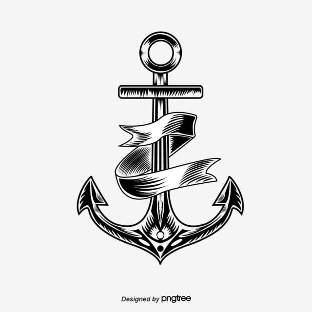مرساة الوشم التوضيح مرساة شريط أسود Png والمتجهات للتحميل مجانا Tattoo Illustration Anchor Tattoo Anchor Tattoos