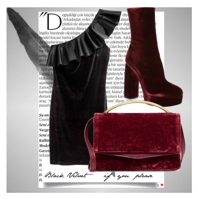 """""""Forecast assignment- Crushed Velvet Mood Board"""" by emma-tia-baronetti"""
