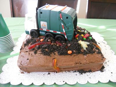 Ketchup & Pickles: Garbage Truck Birthday Party