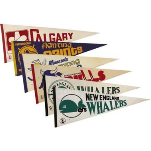 """World Hockey Association"" pennants"