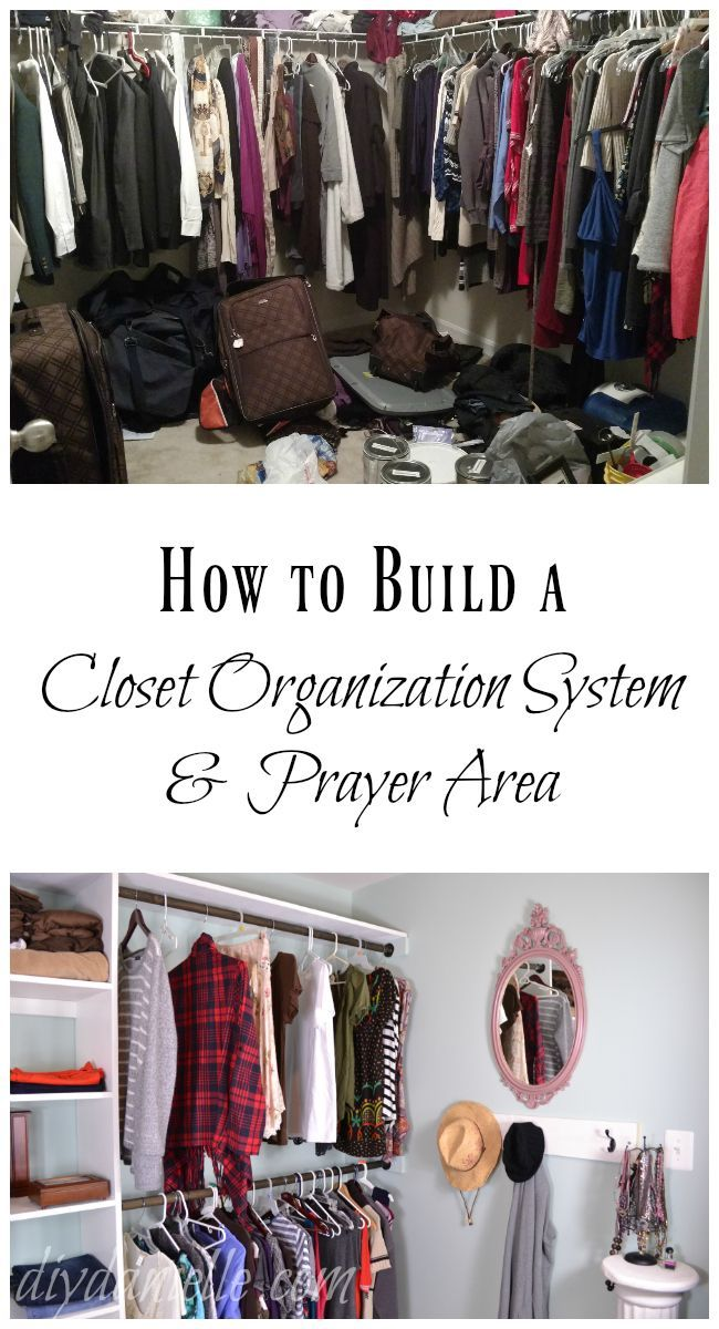 How To Build A Walk In Closet Organization System With