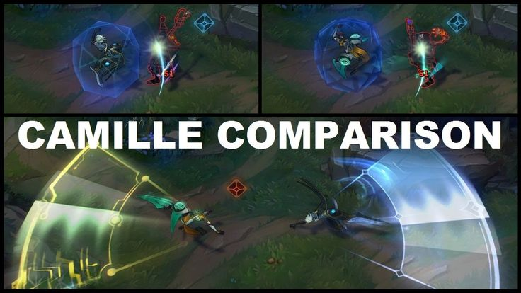 Classic Camille and Program Camille Skin Comparison - New Champion https://www.youtube.com/watch?v=96UQw0z0J5s #games #LeagueOfLegends #esports #lol #riot #Worlds #gaming