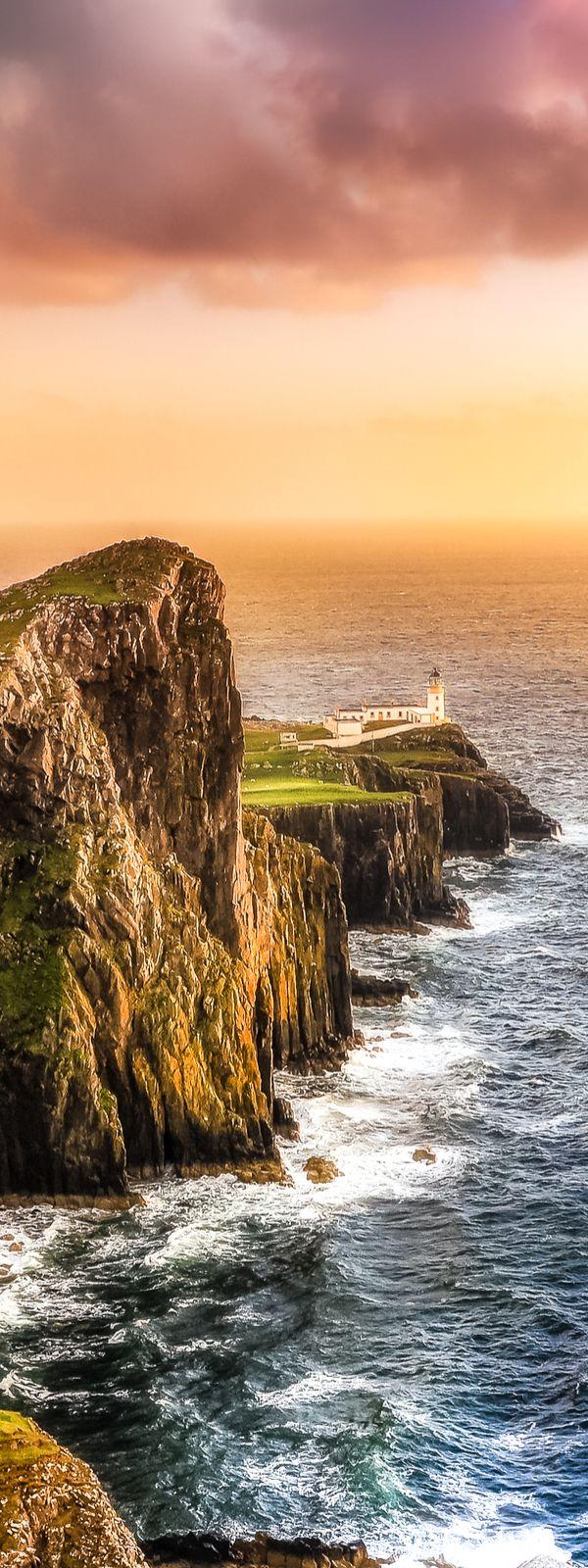 Stunning Landscape & #Lighthouse - #Scotland http://dennisharper.lnf.com/