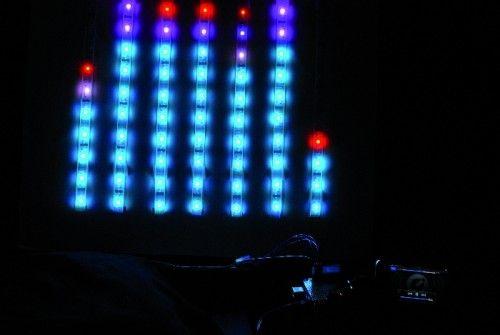 Openelectronics  Big Spectrum Analyzer with Arduino