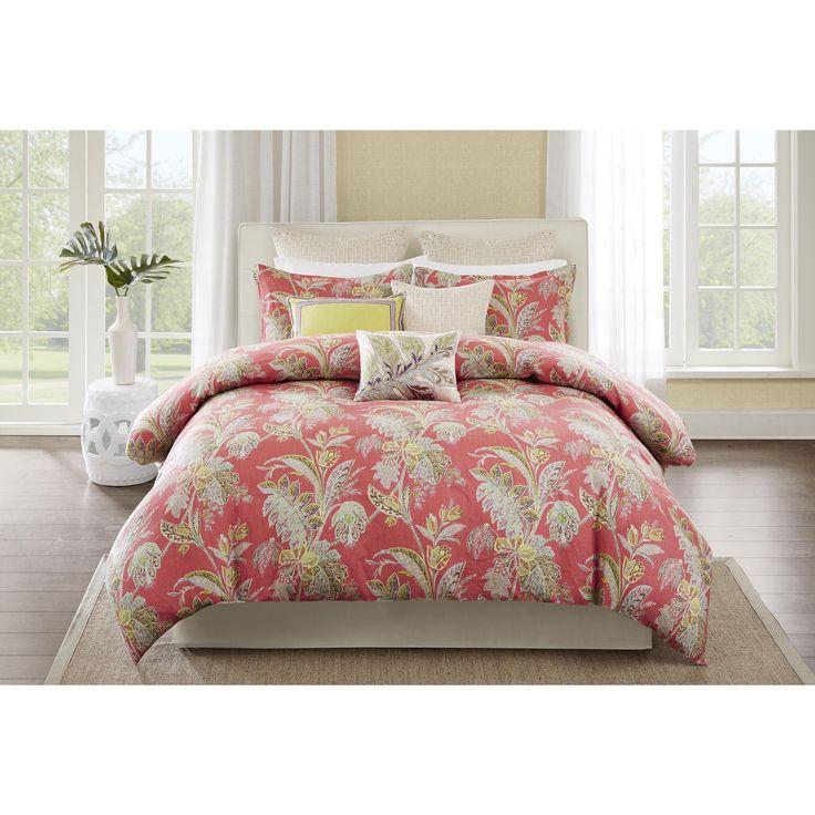 Echo Design Ishana Coral Comforter Set