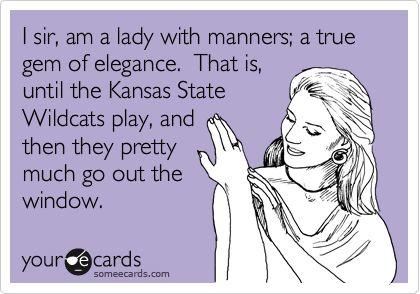 Go Cats! @Becca Jones :)Kansas State, True Gem, So True