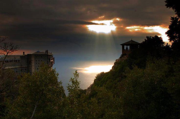 Mount Athos...