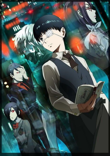 025 Tokyo Ghoul – Manga Series Sui Ishida Japanese Anime 14″x20″ Poster