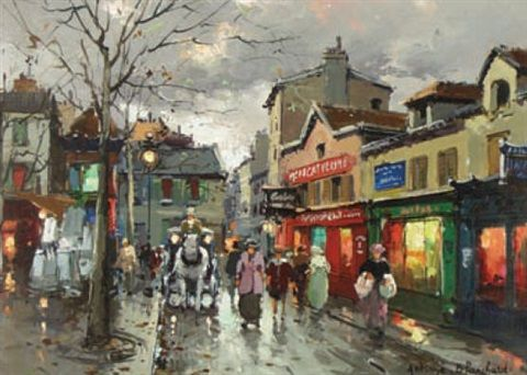View Paris, place du tertre a montmartre by Antoine Blanchard on artnet. Browse upcoming and past auction lots by Antoine Blanchard.