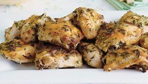 Ψητό λεμονάτο κοτόπουλο με μουστάρδα και δεντρολίβανο