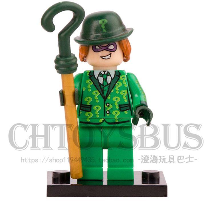 $0.80 (Buy here: https://alitems.com/g/1e8d114494ebda23ff8b16525dc3e8/?i=5&ulp=https%3A%2F%2Fwww.aliexpress.com%2Fitem%2FSingle-Sale-Riddler-In-Green-Suit-BATMAN-MOVIE-Poison-Ivy-Barbara-Riddler-Batgirl-Building-Blocks-SUPER%2F32800339821.html ) Single Sale  Riddler In Green Suit BATMAN MOVIE Poison Ivy Barbara Riddler Batgirl Building Blocks SUPER HERO minifig Toys Gift for just $0.80
