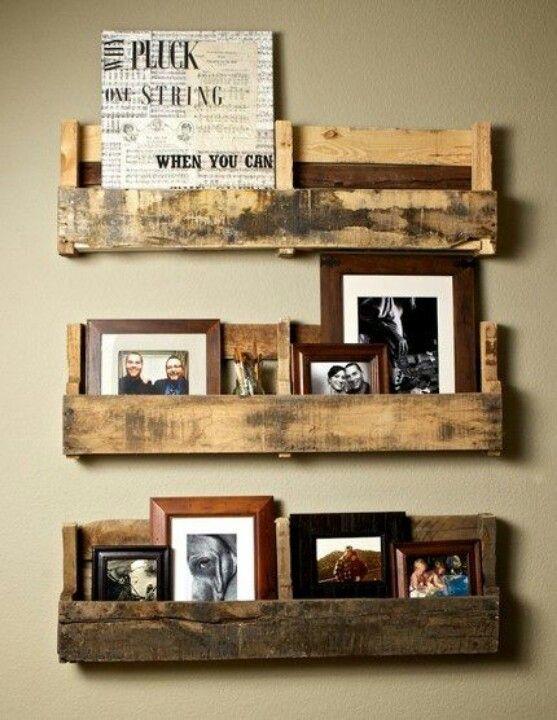 Pellet shelves